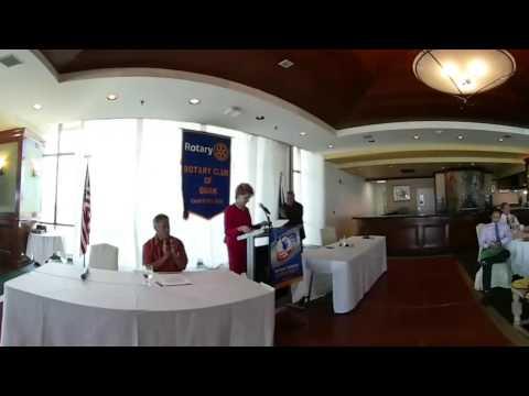 Madeleine Bordallo & Felix Camacho take part in congressional debate