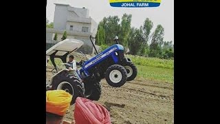 NEW HOLLAND 3630 TURBO SUPER SPECIAL EDITION 55 HP  VS MASSEY 9500 60 HP IN PUNJAB