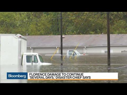 FEMA Battles Historic Inland Flooding in Florence's Wake