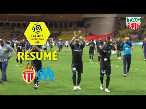 AS Monaco - Olympique de Marseille ( 2-3 ) - Résumé - (ASM - OM) / 2018-19