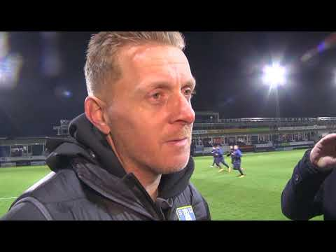 Garry Monk's reaction to the Owls' defeat at Luton
