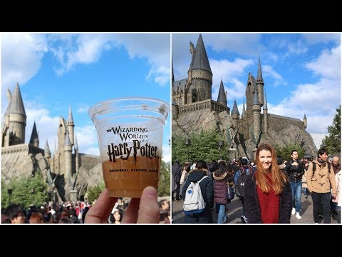 Japan Vlog #3 - OSAKA & UNIVERSAL STUDIOS: HARRY POTTER!