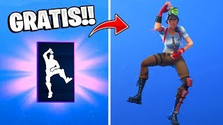 😱New SKINS, Dances and an Emote *FREE* in Fortnite!! New Year's Event