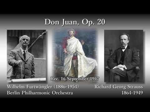 R. Strauss: Don Juan, Furtwängler & BPO (1947) R. シュトラウス「ドン・ファン」フルトヴェングラー
