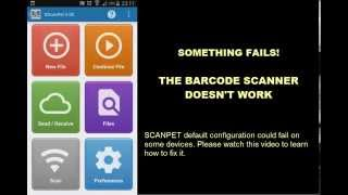 SCANPET - BARCODE SCANNER FAILS! - How to solve