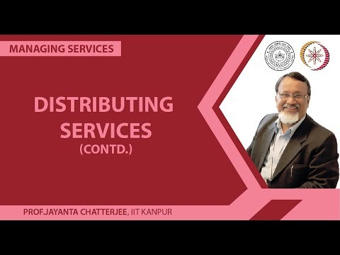 Distributing Services.