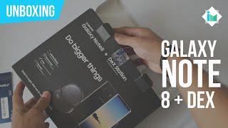 Samsung Galaxy Note 8 con Dex -  Unboxing en español