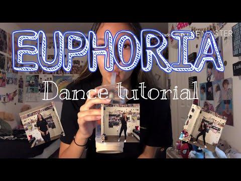BTS Euphoria Dance Tutorial (Mirrored)