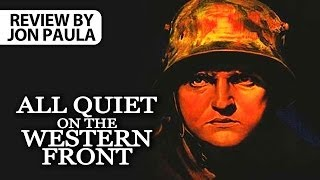 All Quiet On The Western Front -- Movie Review #JPMN