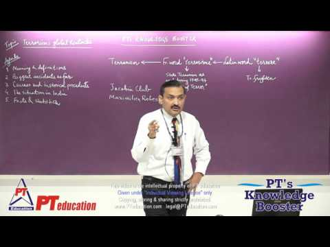 Terrorism's global tentacles - full session of 2.5 hrs - Sandeep Manudhane sir