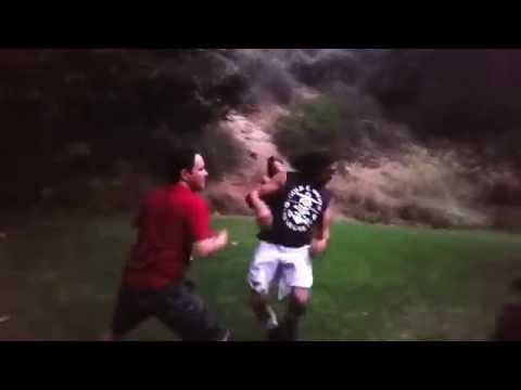 Stunt man training by Romane Simon