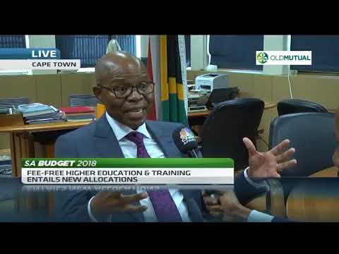 There are no losers in #Budget2018 expenditure cuts - Sfiso Buthelezi