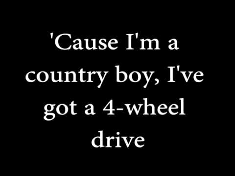 Alan Jackson- Country Boy w/lyrics