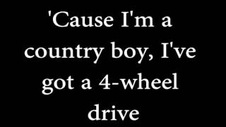 Alan Jackson- Country Boy w/lyrics