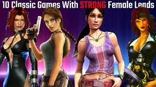 10 Classic Games With STRONG Female Leads (Xbox, PS2, GameCube, PC)(HD)