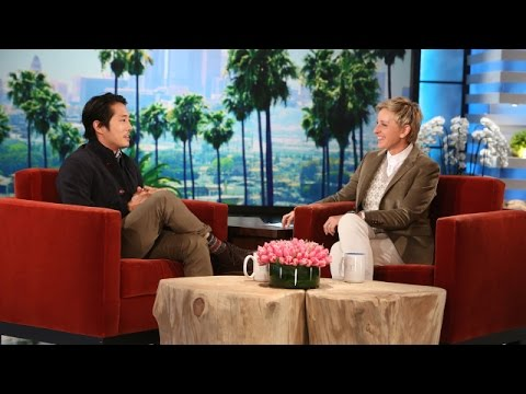 Steven Yeun on His Parents