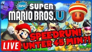 100% neuer Rekord! Super Mario Bros. U Speedrun!