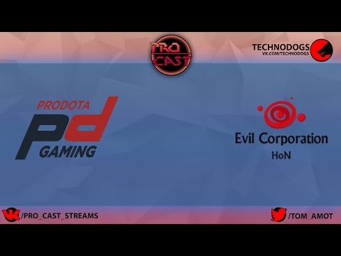 ProDotA Gaming vs Evil Corporation PDCup Europe #14 by Tom Amot&Ezio game 1