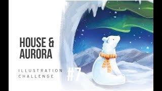 ILLUSTRATION CHALLENGE : AURORA