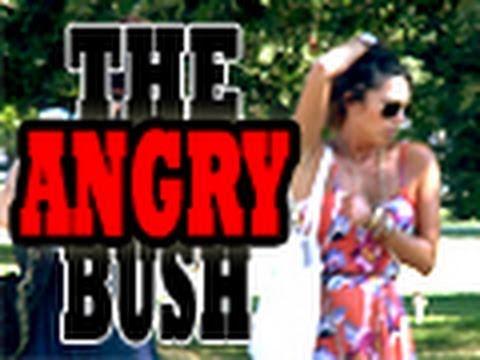 Angry Bush Prank