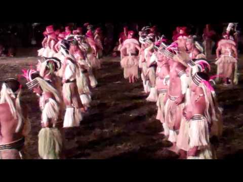 Marquesan Arts Festival - Red Dancers (All)