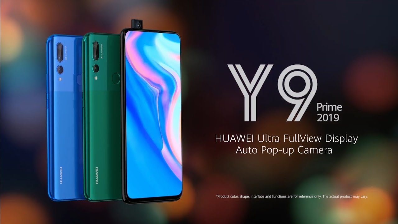Huawei Y9 Prime 2019 Official trailer commercial | PopUp Camera