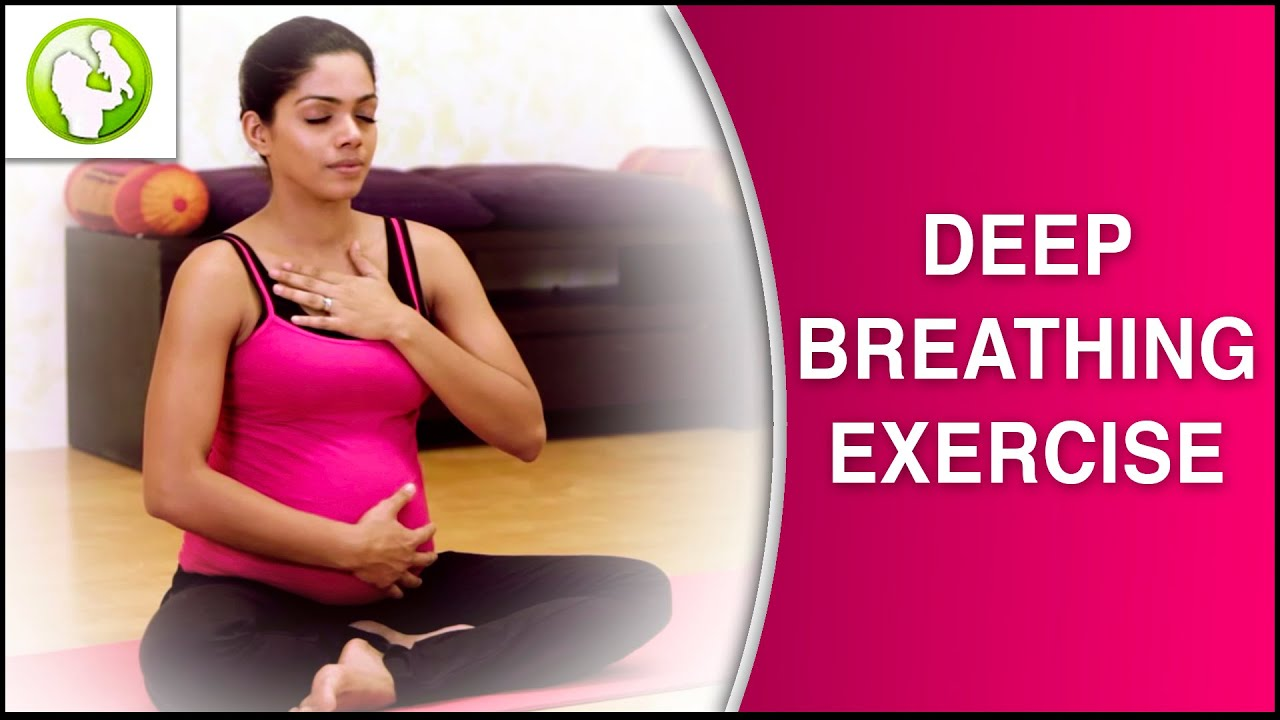 Breath during childbirth: advice to the expectant mother
