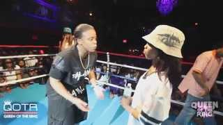 BABS BUNNY & VAGUE present QUEEN OF THE RING TORI DOE vs C3 #NHB