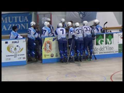 Hockey in line A1 Quarti di finale Play off War Pigs Forli Vs Milano Quanta 15 04 2017