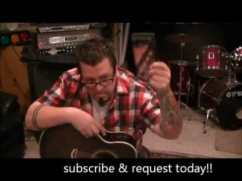 How to play Your Cheatin Heart by Hank Williams on guitar by Mike Gross