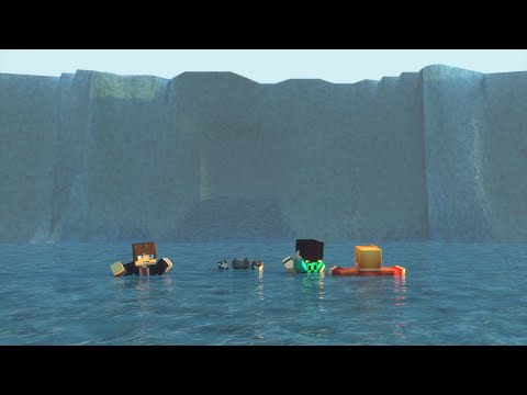 Minecraft: CUIDADO, TSUNAMI!!! - BUILD BATTLE MINI GAME