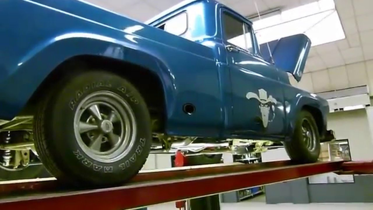 Ford Wiring Harness 1957 F 100 Books Of Diagram F100 With 460 Big Block Dual Exhaust Side Exit Www Rh Youtube Com