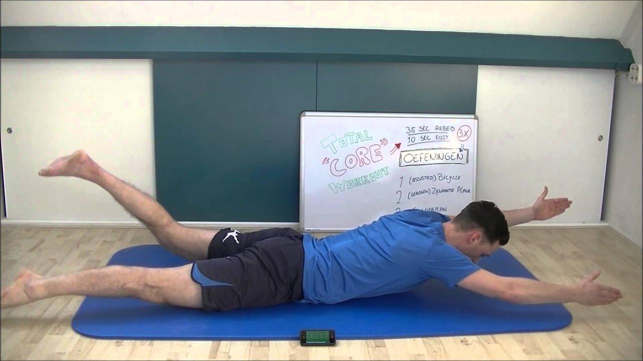 oefening voor lage rugpijn