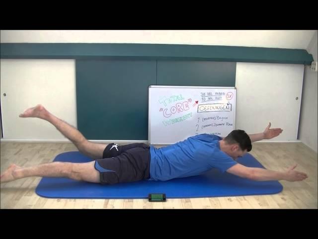 Oefeningen Voor Lage Rugpijn; Total Core Workout #1