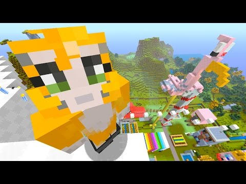 Minecraft Xbox - Quest To Build A Flamingo Face (164)