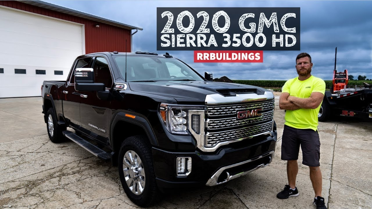 2020 GMC Sierra 3500 Denali Walk Around with RR Buildings ...