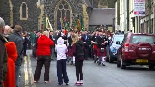Royal Irish Veterans Parade 14/03/15 (Ballymena)
