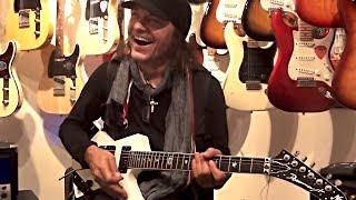 Video Matthias Jabs Playing In A Guitar Shop download MP3, 3GP, MP4, WEBM, AVI, FLV April 2018