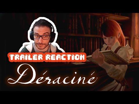 REACCIÓN: Déraciné – Launch Trailer (PS VR)