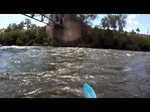 Arkansas River - Milk Run at 4000 cfs - part 1 (HD)