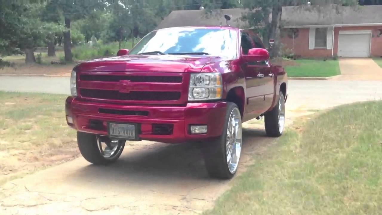 9019 2014 1 also 2007 Chrysler Suv together with 181682 Cam Locker Tool Box Or No additionally Wheel Offset 2006 Chevrolet Silverado 1500 Slightly Aggressive Leveling Kit Custom Rims together with Watch. on 2014 gmc sierra lifted