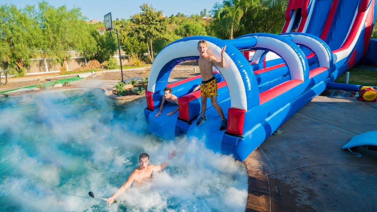 giant-backyard-waterslide-into-1-000-pounds-of-dry-ice
