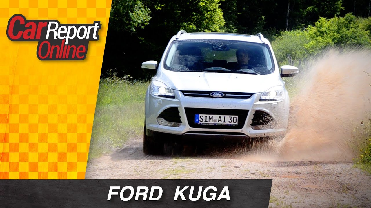2013 ford kuga 2 0 liter tdci titanium test car report online youtube