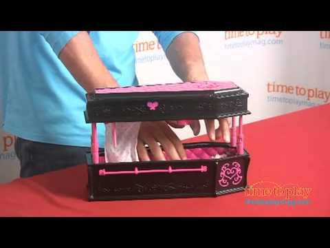 Monster High Draculaura Jewelry Box Coffin from Mattel YouTube