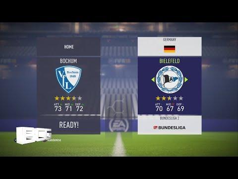 Fifa 18 German Bundesliga 2 Ratings & kits