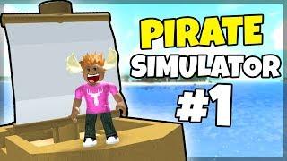 PIRATE MOOSE! -Danish Roblox: Pirate Simulator #1