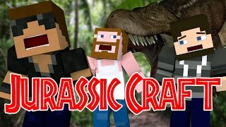 "Dinosaur Attack ""Jurassic World"" Ep.1 ""Jurassic Craft Roleplay"""