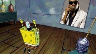 Kanye Meets Spongebob In INSANE Mashup | What's Trending Now