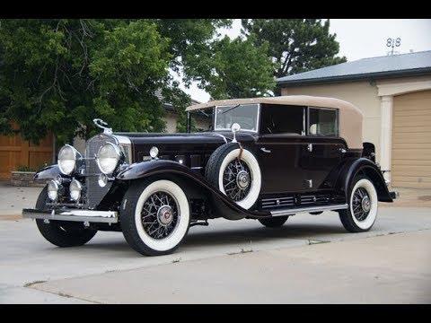 1931 Cadi V16 engine and history details
