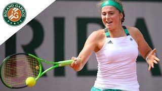 Jelena Ostapenko - Top 5 Roland Garros 2017